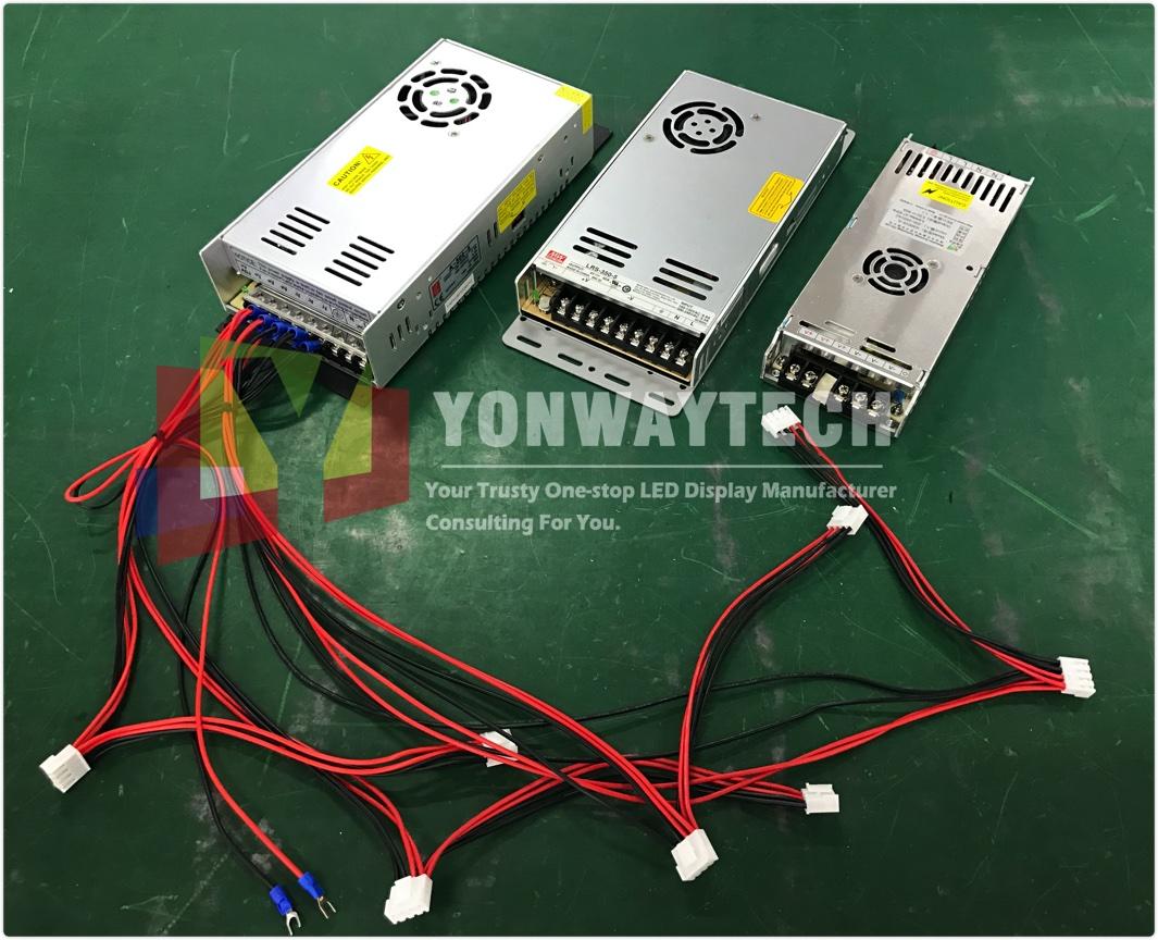 chuanlian power supply yonwaytech led display screen factory Shenzhen China