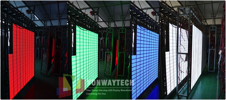 p2.5mm indoor led module panel display screen RGB aging